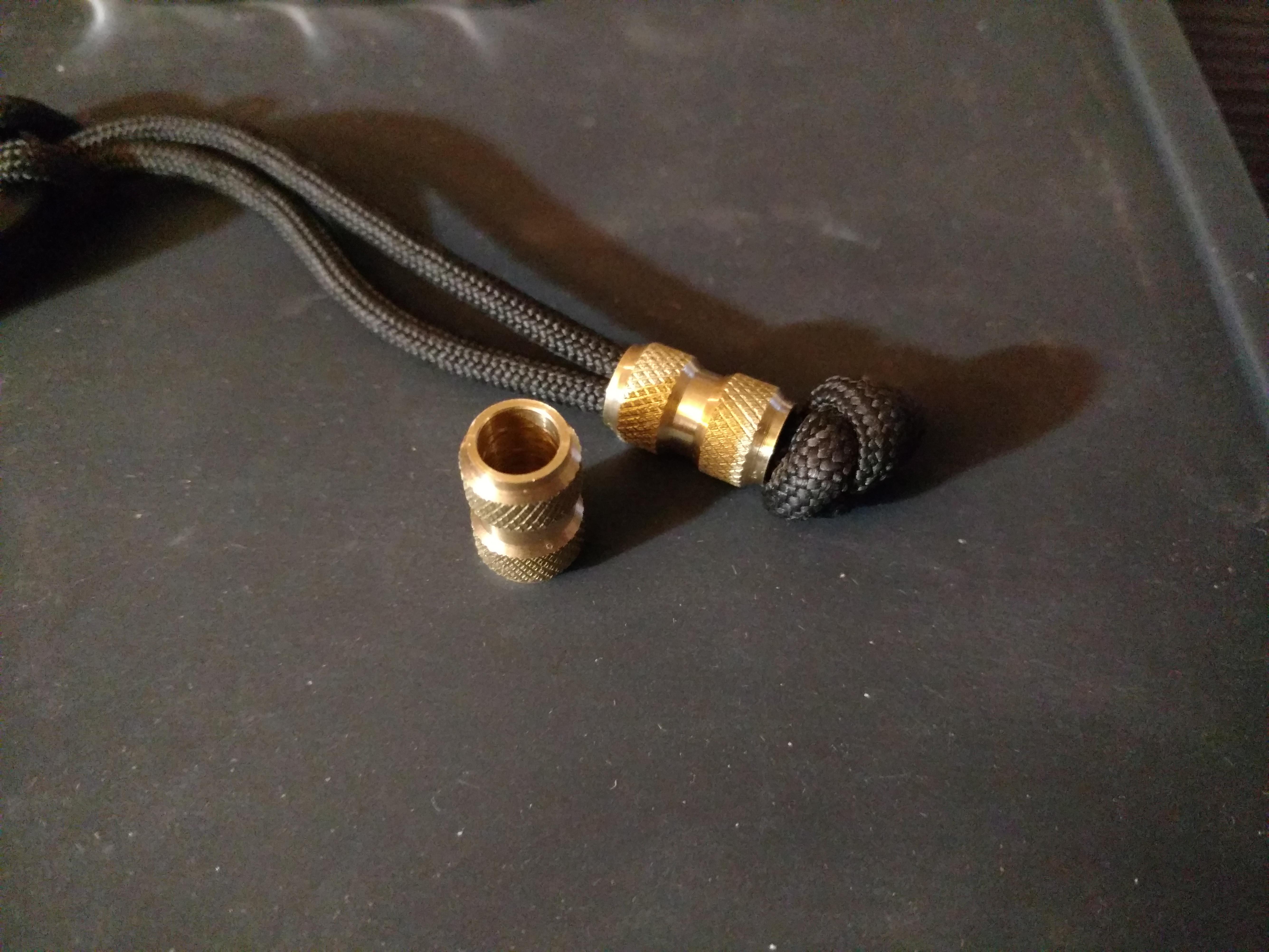 Q-tac Running Beads Snaps Link Ledger Grundblei Einhänger Durchlauf Perlen